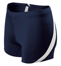Diamond Elementary School Dolphins Ladies Fitted Stretch Short
