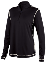 Del Norte Middle School Tigers Ladies Performance 1/4 Zip