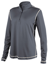 Friends School Quakers Ladies Performance 1/4 Zip