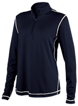 Westbury Christian School Wildcats Ladies Performance 1/4 Zip