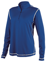 Brunson Elementary School Bobcats Ladies Performance 1/4 Zip