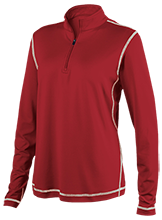 Wichita Heights High School Falcons Ladies Performance 1/4 Zip