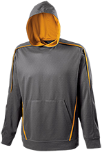 Milwaukie High School Mustangs All Over Design Performance Hoodie
