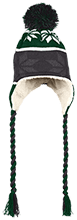 St. Francis Indians Football Hat with Ear Flaps and Braids