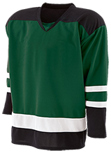 Clearwater-Orchard Cyclones Hockey Player Jersey