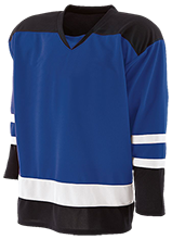 Shoals High School Jug Rox Hockey Player Jersey