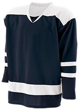 Lansing Eastern High School Quakers Youth Hockey Goalie Jersey
