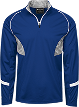 Malverne High School 1/4 Zip Polyester Pullover with Camo Inserts