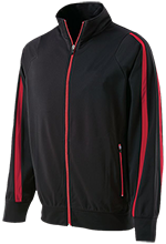 Matoaca Middle School Warriors Holloway Colorblock Warm-Up Jacket