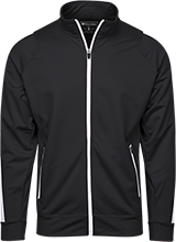 Glacier Point Middle School Huskies Holloway Colorblock Warm-Up Jacket