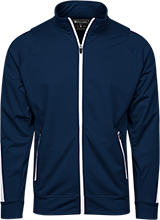 Copperwood Elementary School Chargers Holloway Colorblock Warm-Up Jacket