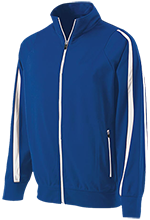 East Park Elementary School East Park Rockets Holloway Colorblock Warm-Up Jacket