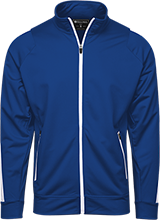 East Laurinburg School Mustangs Holloway Colorblock Warm-Up Jacket