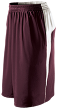 Milford High School Buccaneers Youth Moisture Wicking Shorts with Pockets
