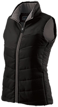 Rogers Middle School Falcons Ladies Quilted Vest