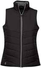 Black Hawk Middle School Panthers Ladies Quilted Vest