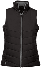 Ann G McGuinness Elementary Tigers Ladies Quilted Vest