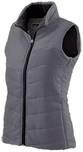 Mercersburg Academy  Blue Storm Ladies Quilted Vest