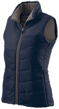 Jemison Middle School Panthers Ladies Quilted Vest
