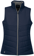 Manhattan Ctr Math & Science Rams Ladies Quilted Vest
