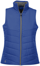 Queen Of Peace School Lions Ladies Quilted Vest