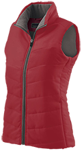 Asheville High School Cougars Ladies Quilted Vest