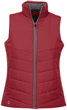 Faith Baptist School Pioneers Ladies Quilted Vest