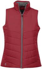 North Sunflower Athletics Ladies Quilted Vest