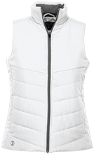 Harrison Elementary School Hawks Ladies Quilted Vest