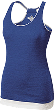 Delphos St. John's Bluejays Juniors' Vintage Heathered Tank