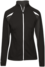 Montpelier Schools Locomotives Ladies Performance Warm-Up Jacket