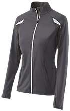 Mercersburg Academy  Blue Storm Ladies Performance Warm-Up Jacket