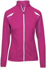 Lowpoint-washburn High School Wildcats Ladies Performance Warm-Up Jacket
