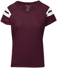 Molly Ockett MS School Ladies Sporty T-Shirt Shirt