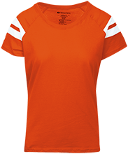 Charlotte High School Orioles Ladies Sporty T-Shirt Shirt