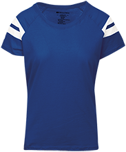 Saratoga Independent School Blue Streaks Ladies Sporty T-Shirt Shirt