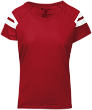 Cuba Elementary School Cardinals Ladies Sporty T-Shirt Shirt