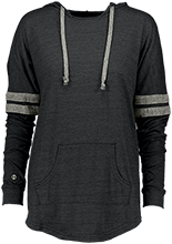 Football Ladies Hooded Low Key Pullover