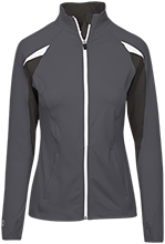 Blodgett Elementary School Bobcats Girls Performance Warm-Up Jacket