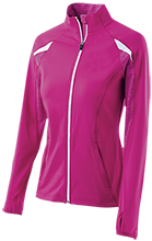 Heuvelton Central School Bulldogs Girls' Performance Warm-Up Jacket