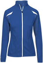 John William Decas School Vikings Girls Performance Warm-Up Jacket