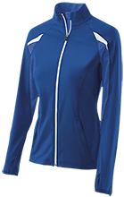 Chase Middle School Lightning Bolts Girls' Performance Warm-Up Jacket