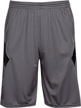 Rib Lake Elementary School Indians Moisture Wicking Athletic Shorts