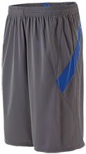 Blue Mountain Union School Bmu Bucks Moisture Wicking Athletic Shorts