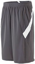 Alpha Elementary Mustangs Moisture Wicking Athletic Shorts