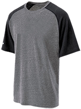 Sussex Tech High School Ravens Tri-blend Heathered Shirt