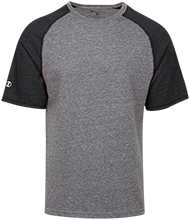 Salem Lutheran School Chargers Tri-blend Heathered Shirt