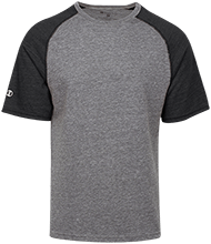 Custom Company Logo Tri-blend Heathered Shirt