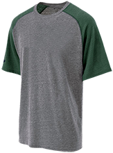 Parcells Middle School Panthers Tri-blend Heathered Shirt
