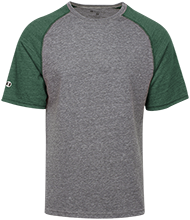 Monrovia High School Bulldogs Tri-blend Heathered Shirt